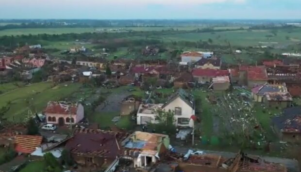 Tornádo. Foto: snímek obrazovky YouTube