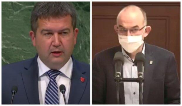 Jan Hamáček a Jab Blatný. Foto: snímek obrazovky YouTube