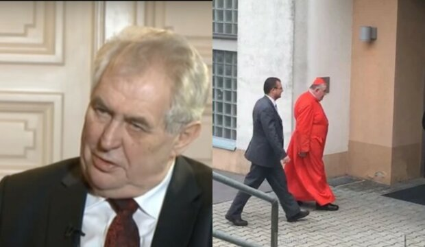 Hospitalizace Miloše Zemana: Proč za prezidentem dorazil do nemocnice kardinál. Jiří Ovčáček promluvil