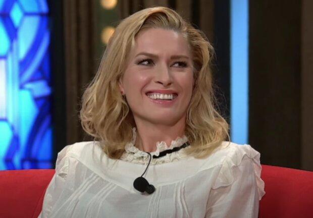 Olga Menzelová. Foto: snímek obrazovky YouTube