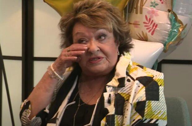 Jiřina Bohdalová. Foto: snímek obrazovky YouTube