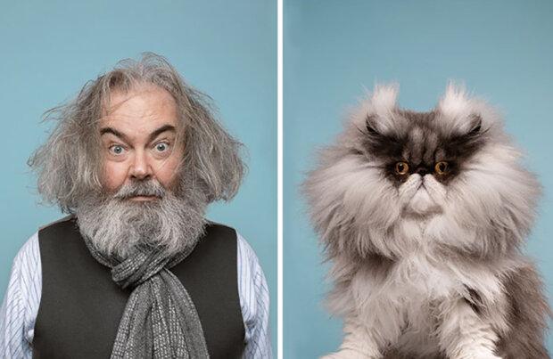 Fotografovi se podařilo dokázat, že každý člověk má dvojníka: jak vypadají čtyřnohé dvojnice