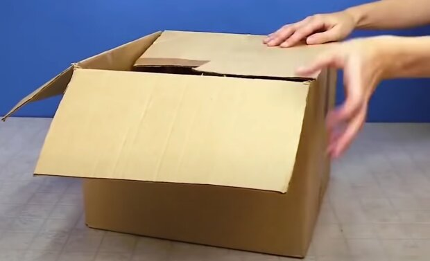 Krabice. Foto: snímek obrazovky YouTube