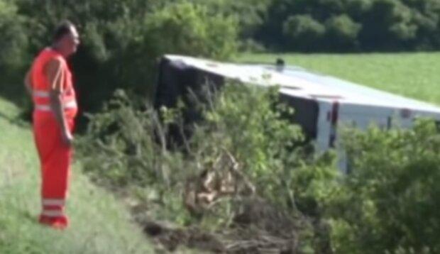 Nehoda. Foto: snímek obrazovky YouTube