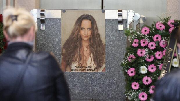 Poslední sbohem pro Růžičku: V Česku proběhlo rozloučení s herečkou Danielou Krhutovou