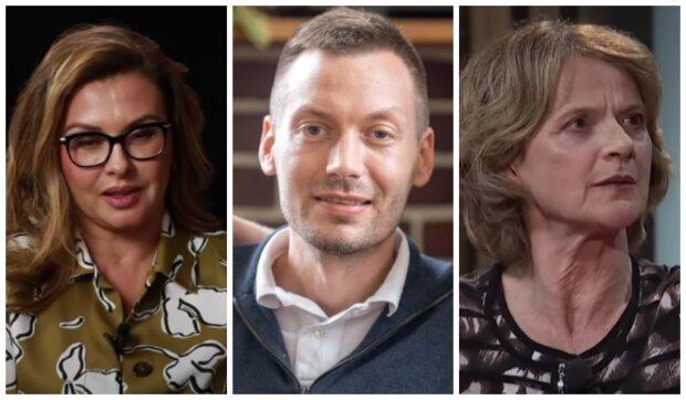 Dana Morávková, Martin Přecechtěl a Tatjana Medvecká. Foto: snímek obrazovky YouTube
