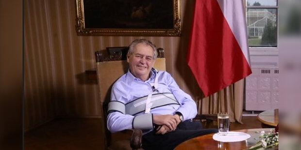 Prezident Miloš Zeman se jednoznačně vyjádřil k opakování jarního scénáře