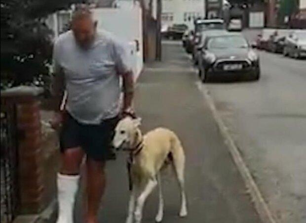 """""""Pořád spolu"""": majitel utratil £300 za vyšetření chromého psa, ale zjistil, že mu zvíře jednoduše napodobuje"""