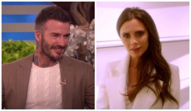 Victoria a David Beckham. Foto: snímek obrazovky YouTube