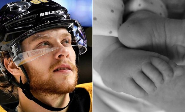 """""""Budeme tě navždy milovat"""": Hokejový útočník David Pastrňák přišel o novorozeného syna"""