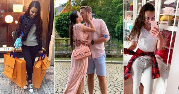 Zhýčkaná novomanželka Jirky Krále: Desítky luxusních kabelek za statisíce