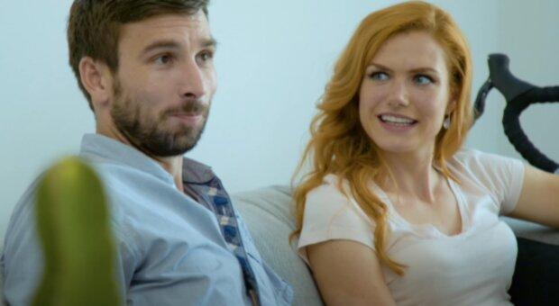 Gabriela Koukalová a Petr Koukal. Foto: snímek obrazovky YouTube