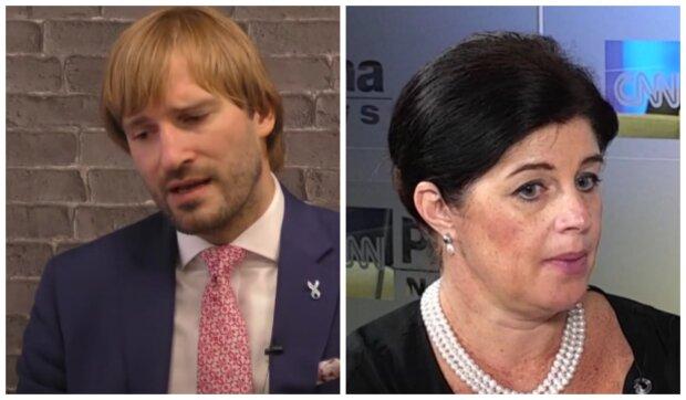 Adam Vojtěch a Irena Storová. Foto: snímek obrazovky YouTube