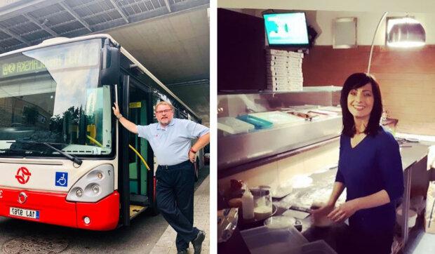 Řemeslník, pizzarka, řidič autobusu: Jak vydělávají slavní herci během krize