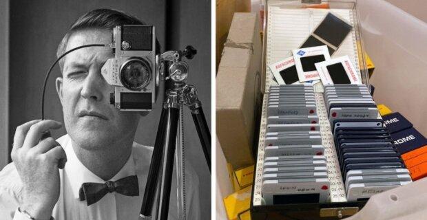 Vnuk digitalizoval fotografie, které zdědil po svém dědečkovi a ukázal co bylo na filmech půl století starých