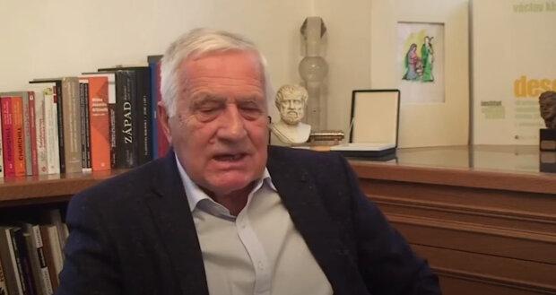 Bývalý prezident Václav Klaus kvůli nemoci podstoupil nové vyšetření u lékaře: Lékař ohlásil výsledky