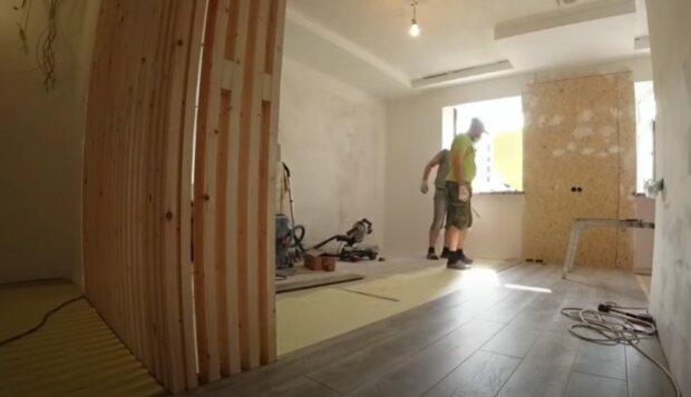 Renovace. Foto: snímek obrazovky YouTube