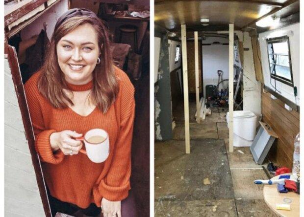 Mladý pár nechtěl brát hypotéku, ale usadil se ve staré lodi a ji přeměnil k nepoznání: na fotografii mladí lidé ukázali, jak všechno probíhalo