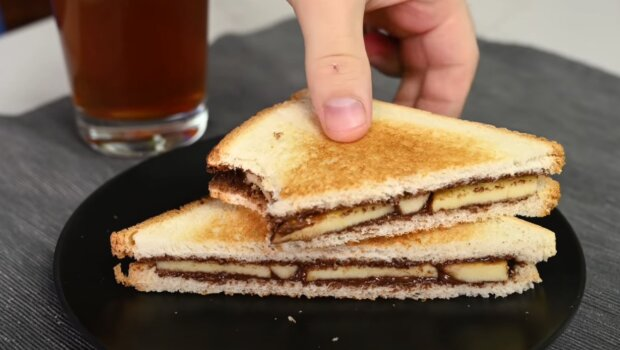 Speciální čokoláda na sendviče. Foto: snímek obrazovky YouTube