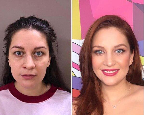 Magie make-upu: jak stylista transformuje i ty nejobvykleji vypadající a zanedbávané ženy k nepoznání