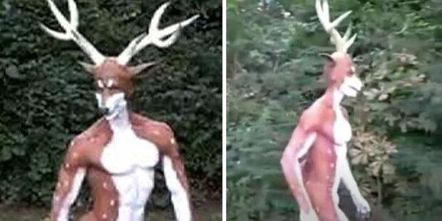 """Muž, který se považoval za jelena, potkal myslivce: lovci měli štěstí a """"jelen"""" měl smůlu. Lékaři dali připomínky"""