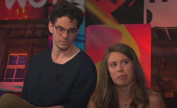 Marek Adamczyk a Eva Samková. Foto: snímek obrazovky YouTube