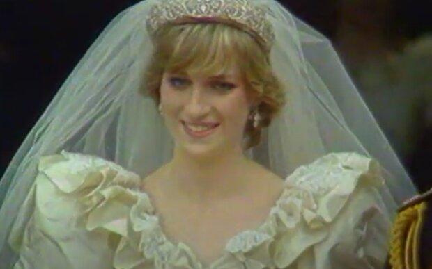 Princezna Diana. Foto: snímek obrazovky YouTube