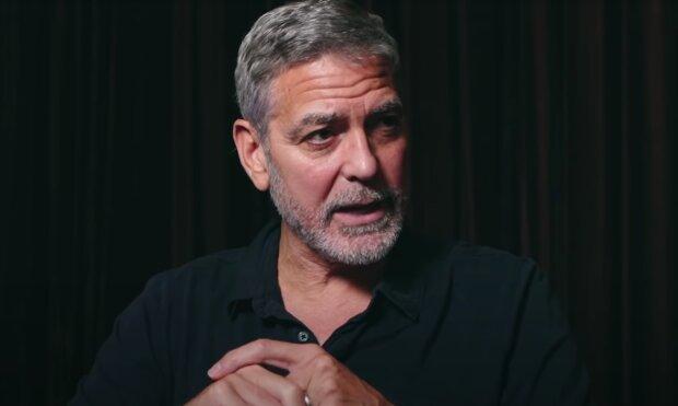 George Clooney. Foto: snímek obrazovky spletnik.ru