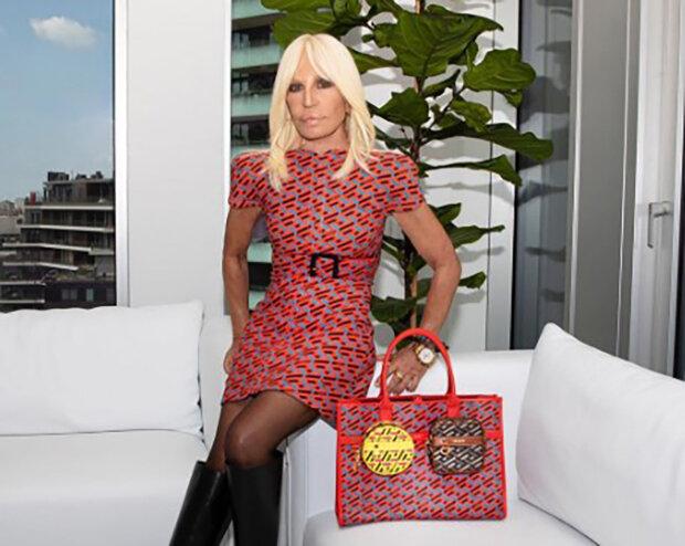 Jako mladá kráska: 66letá Donatella Versace ukázala nožičky na červeném koberci