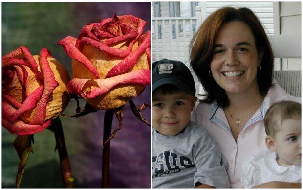Po 11 letech manželství manžel opustil svou ženu a odešel. O dva roky později jí děti přinesly uschlé květiny