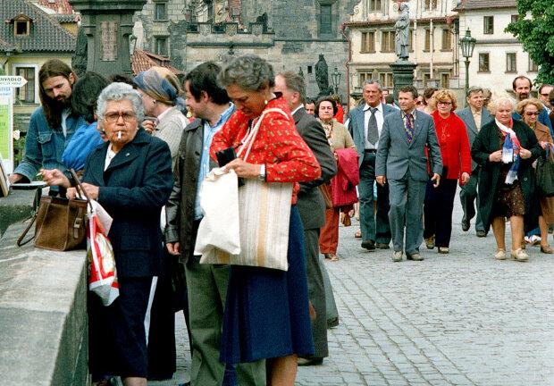 Jak krásná byla naše mladost: Československo roku 1980 očima anglického fotografa Alana Dennyho