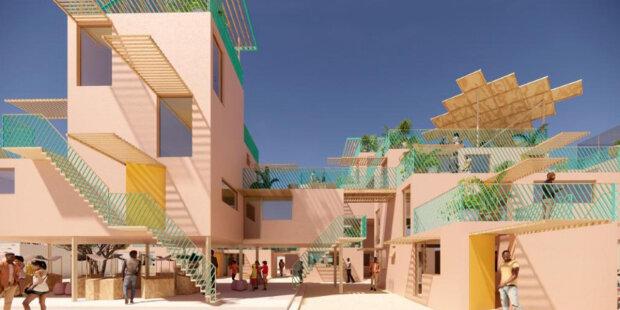 Architekt vytvořil projekt domů z recyklovaného plastu: kdo v nich bude bydlet