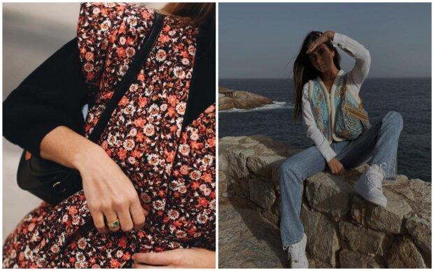 Květinová hippie vesta ze 70. let je zpět v trendu: módní modely 2021