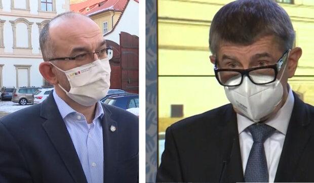 Pozastavení očkování, zákaz vycházení a další omezení: O čem bude Andrej Babiš na jednání s vládou mluvit