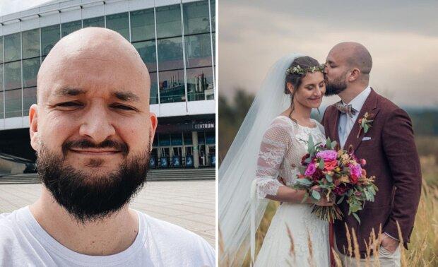 """""""Jsme Pokáčovic"""": Písničkář Pokáč se oženil. Na internetu se pochlubil krásnými snímky. Reakce kolegů"""