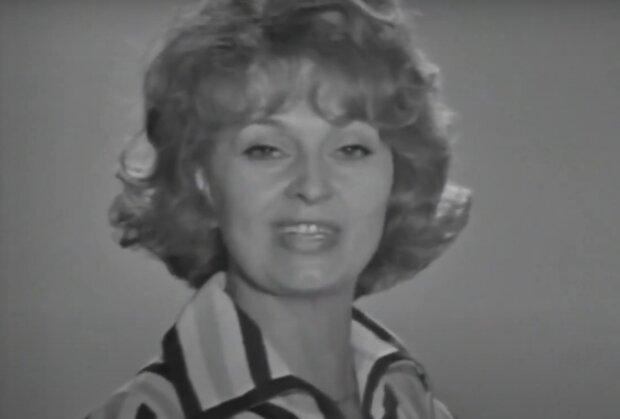 Yvetta Simonová. Foto: snímek obrazovky YouTube