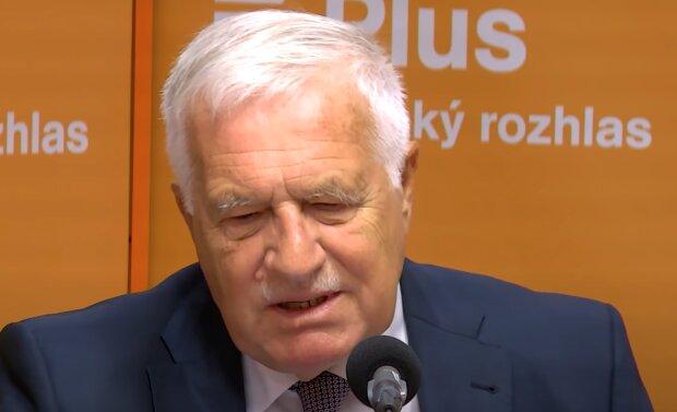 Václav Klaus: Je známo, jak se mu vede po více než týdnu od diagnózy