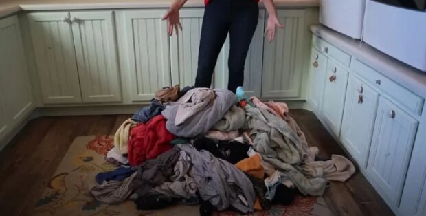 Maminka 16 dětí ukázala, kolik prádla se v rodině nahromadí za jeden den