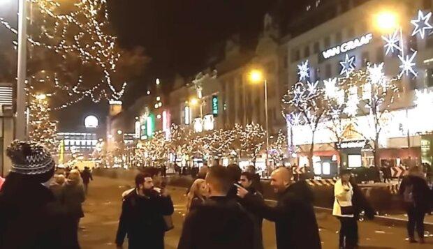Praha. Foto: snímek obrazovky YouTube