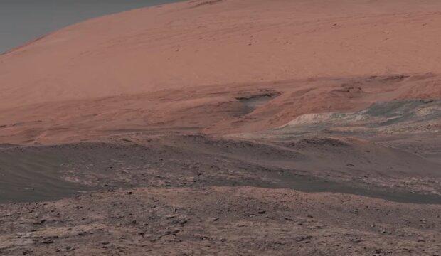 Mars. Foto: snímek obrazovky YouTube