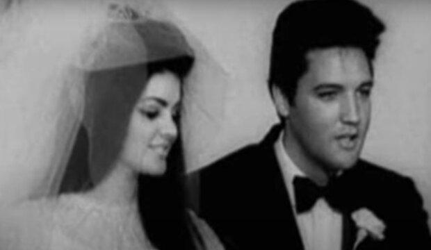 Elvise Presley a Priscilla.  Foto: snímek obrazovky YouTube