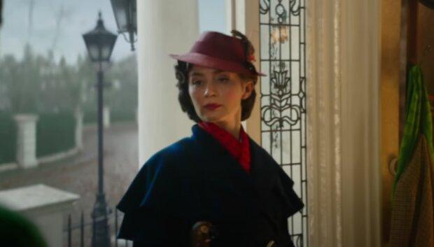 Mary Poppins. Foto: snímek obrazovky YouTube
