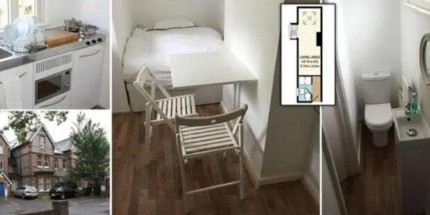 Rodina predáva malý byt 2 metre široký za 170 tisíc dolárov