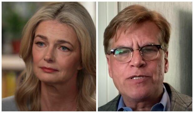 Pavlína Pořízková a Aaron Sorkin. Foto: snímek obrazovky YouTube