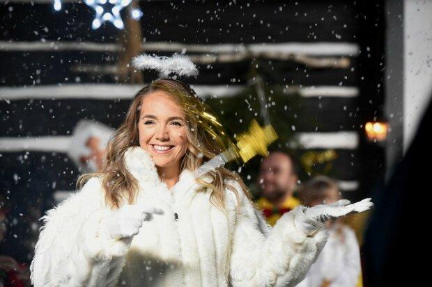 Usměvavý andílek: Lucie Vondráčková zářila vedle Mikuláše a čerta a promluvila, čím se chce teď zabývat