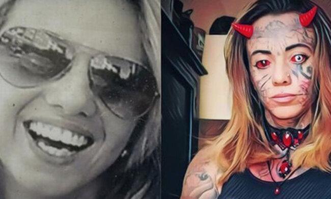 Dívka změnila svůj vzhled natolik, že se od ní kolemjdoucí snaží držet dál