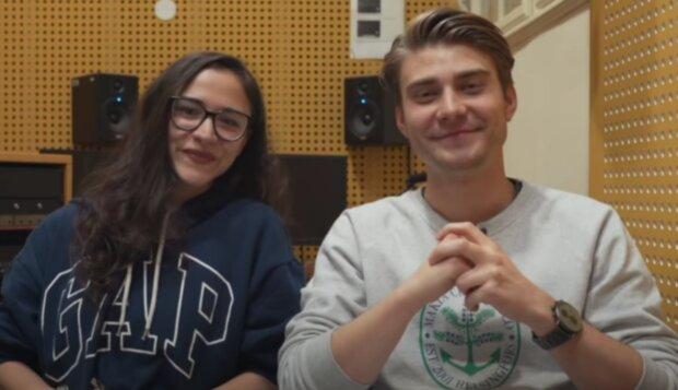 Eva Burešová a Marek Lambora. Foto: snímek obrazovky YouTube
