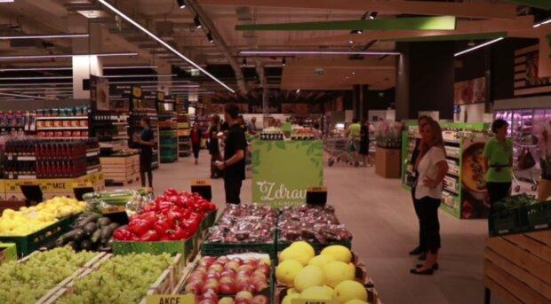 Dvojí kvalita potravin. Foto: snímek obrazovky YouTube