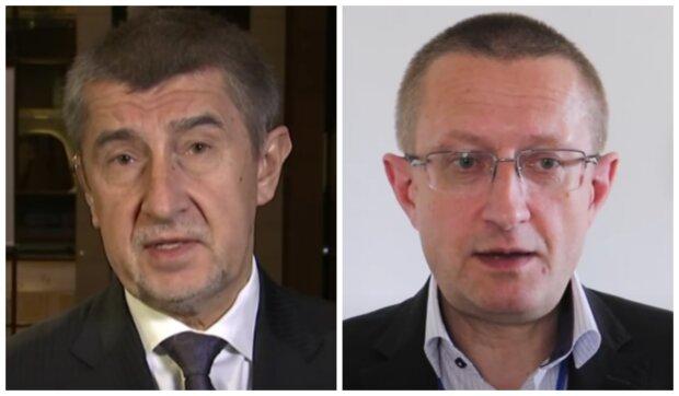Andrej Babiš a Ladislav Dušek. Foto: snímek obrazovky YouTube