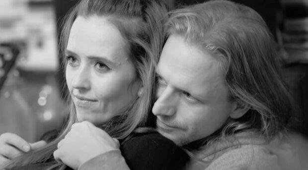 Tamara Klusová a Tomáš Klus. Foto: snímek obrazovky YouTube